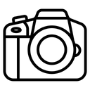 Camera Digital Dslr Icon
