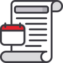 Due Date Payment Time Bill Icon