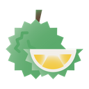 Durian Fruit Healthy Icon