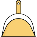 Cleaning Dusting Dustpan Icon