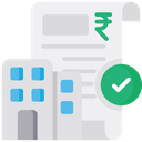 E Filing For Business Business Tax Tax E Receipt Icon