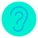 Ear Anatomy Body Parts Icon