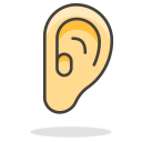 Ear Human Part Icon