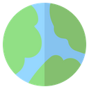 Earth Geography Global Icon