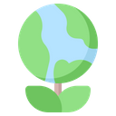 Plant Leaf Growth Icon