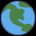 Earth Planet Exploration Icon