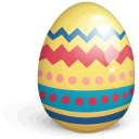 Easter Egg Red Icon