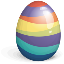 Easter Egg Purple Icon