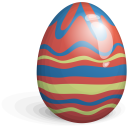 Easter Egg Green Icon