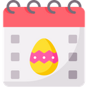 Easter Calender Icon