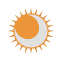 Eclipse Astronomy Ellipse Icon