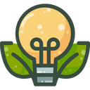Eco Bulb Eco Light Bulb Eco Icon