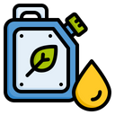 Eco Fuel Biofuel Biological Fuel Icon