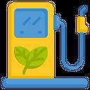 Eco Fuel Biological Fuel Biofuel Icon