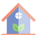 Eco House Green House House Icon