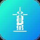 Ecology Energy Windmill Icon