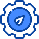 Gear Ecology And Environment Sustainability Icon
