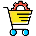 Ecommerce Services Solution Icon