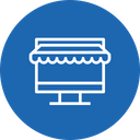 Ecommerce Shop Laptop Icon