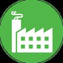 Economy Factory Industry Icon
