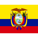 Ecuador Flag Country Icon