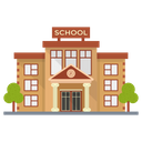 School Educational Building Building Icon