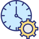 Effective Planning Time Analysis Time Control Icon