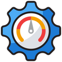 Effectiveness Efficiency Measure Performance Ratio Icon