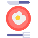 Egg Fried Broken Icon