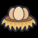 Egg Food Ingredient Icon