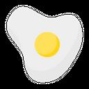 Egg Fried Egg Eggs Icon