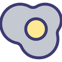 Egg Omelet Food Icon