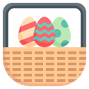 Egg Basket Basket Gift Icon