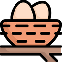 Egg In Nest Icon
