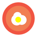 Egg Omlet Food Icon