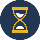 Egg Timer Hourglass Processing Icon