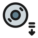 Eject Disc Icon