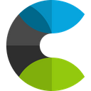 Elastic Cloud Technology Logo Social Media Logo Icon