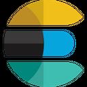 Elastic Search Technology Logo Social Media Logo Icon