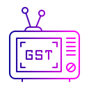 Electric Device Television Icon