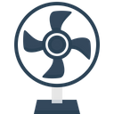 Electric Fan Table Icon