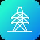 Electricity Derrick Energy Icon