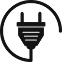 Electricity Plug Power Plug Power Outlet Icon
