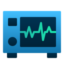 Electrocardiograph Machine Hearth Icon
