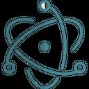 Electron Technology Logo Social Media Logo Icon