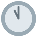 Eleven Clock Watch Icon