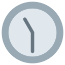 Eleven Thirty Clock Icon