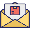 Email Mail Delivery Service Logistic Icon