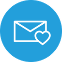 Email Mail Heart Icon