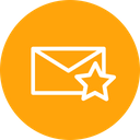 Email Mail Star Icon